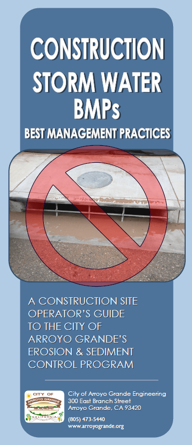 Construction BMP Brochure