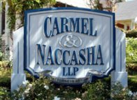Carmel and Naccasha LLP Sign
