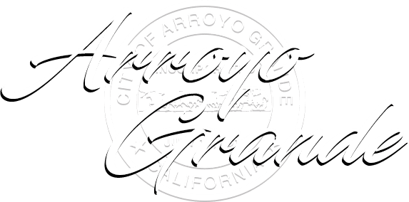 Arroyo Grande welcome message